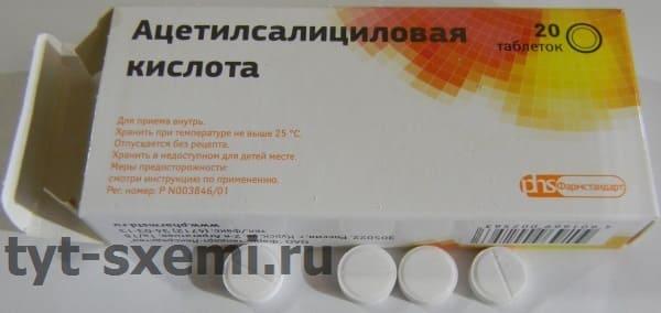 Ацетилсалициловая кислота для пайки