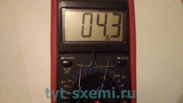 Как проверить емкость конденсатора с помощью мультиметра