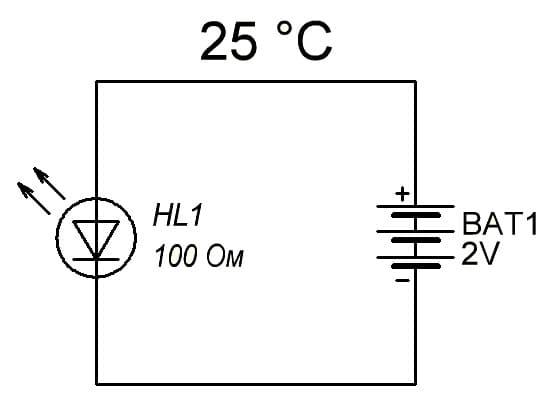 Зачем нужен резистор у светодиода