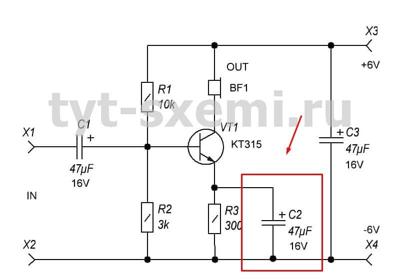 Как работает конденсатор в схеме